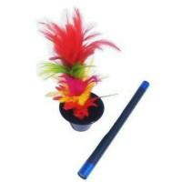 alat sulap tongkat jadi bunga + can to plower