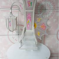 Standar Kue Pengantin 2 Tingkat ( wedding cake support )