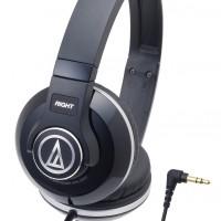 Audio-Technica ATH-S500 Street Monitoring Headphones - Hitam