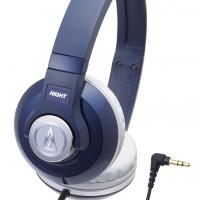 Audio-Technica ATH-S500 Street Monitoring Headphones - Navy