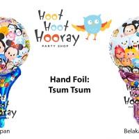 Balon Foil Pentungan Tsum Tsum / Balon Foil Tsum Tsum / Balon Gagang