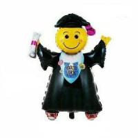 Balon Foil Graduation Sarjana