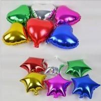 Balon Foil Love / Hati & Star / Bintang Mini