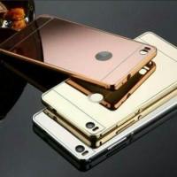 Bumper Mirror Xiaomi Redmi 3X/hardcase/back case/case