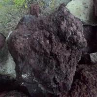 Batu Lava Rock Lava Rough Untuk Dekorasi Aquascape Aquarium Perkilo