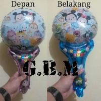 Balon Souvenir Tsum-Tsum / Balon Pentung / Balon Tongkat