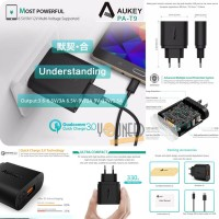 AUKEY PA T9 Single Port USB Turbo With Qualcomm Quick Charge 3.0