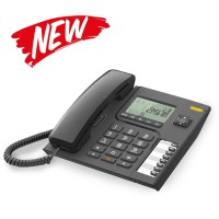 Alcatel T76 Large Display Speakerphone Telepon Rumah Single Line