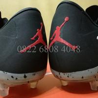 Sepatu Bola / Soccer Nike Hypervenom II Neymar X Jordan Black - FG