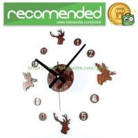 DIY Giant Wall Clock 30-60cm Diameter - ELET00663 / Jam Dinding - Brow
