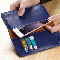 Flip Case Wallet Leather Dompet Cover Casing Samsung Galaxy S6 Edge