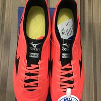 Sepatu Futsal Mizuno Monarcida orange/black
