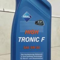 Oli Aral High Tronic F 5W-30 API SL/CF ILSAC GF-4 Synthetic 1L Germany