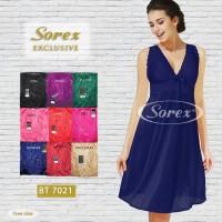 Baju Tidur Wanita Satin Premium Model Terbaru Sorex Exclusive BT 7021