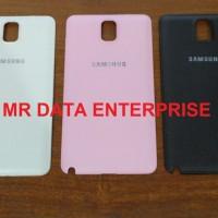 Backdoor Backcover Tutup Casing Belakang Samsung Note3 Note 3 Original