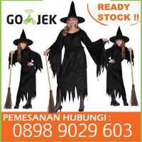 Kostum Penyihir Baju Nenek sihir witch costume kostum halloween