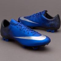 Sepatu Bola Nike Mercurial Veloce CR7 Blue Diamond Original Murah