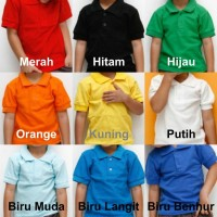Polo Kerah Anak - Kaos Kerah - Shirt Anak - POLO POLOS - Baju Anak 1
