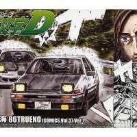 AOSHIMA 1/24 INITIAL D 6 Takumi AE86 TRUENO AE101 Engine Comic 37 ver.