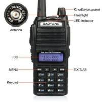 Radio Ht Handy Talky Baofeng Ub 82+ Hedset Original, UV-82, UV82
