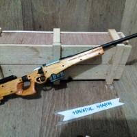Miniatur Sniper Magnum AWP L96 / Miniatur Weapon