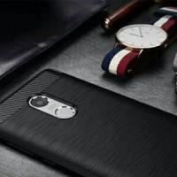 Softcase Carbon Fiber Xiaomi Redmi Note 4 Backcase BAGUS