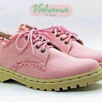 Alena cream pink docmart shoes SPT
