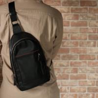 Premium Sling Bag Black | Vape Bag |Tas Vapor | Tas Vape | Bova Bag