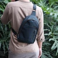 Premium Sling Bag Blue | Vape Bag |Tas Vapor | Tas Vape | Bova Bag