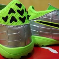 Sepatu Futsal Puma Evotouch 3 Silver - Turf ORIGINAL