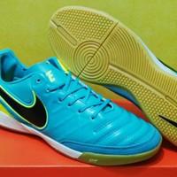 Sepatu Futsal Nike Tiempo Mystic V Blue Tosca Yellow ORIGINAL