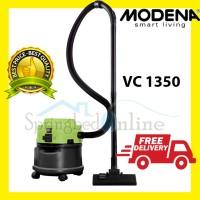 VACUM MODENA Vacuum Cleaner VC 1350 Untuk Vakum Basah Kering Low Watt
