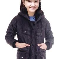 804SKR, jaket gunung/baju hangat hoodie parasut anak perempuan/cewek