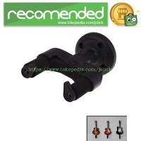 Mount Gantungan Dinding Gitar Back Holder Rack - Black