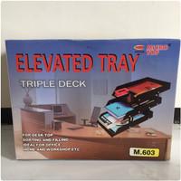Elevated Tray 3 Stage Microtop / Bak Surat 3 Susun