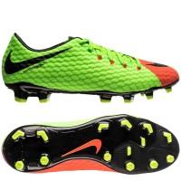 Diskon Sepatu Bola Original Nike Hypervenom Phelon III FG Green Orange