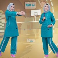 baju senam jumbo/baju olahraga jumbo/stelan senam jombo/belive Tosca M