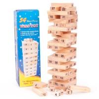 Mainan Edukasi Anak - Balok Kayu Uno Stacko Wiss Toy Angka Besar