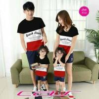 Baju Couple Family / Keluarga Beach 3722 ( HARGA SUDAH 1 SET )