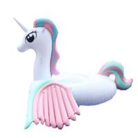 Giant Unicorn Pastel Pony Rainbow Float Ban Renang Ban Pelampung