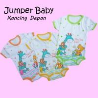 Jumper Bayi Romper Handsop Perlengkapan Baby Lahir Baju Newborn Lucu