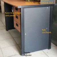 Meja Kantor Meja Kerja Meja 1/2 Biro SMS-List Meja Laci 3