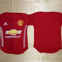 Baju Bola Bayi Anak Cowok / Baby Romper Manchester United MU Home 16/1