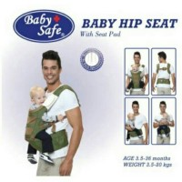 Baby Safe Hip seat Carrier with seat pad/gendongan hipseat