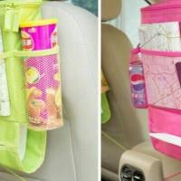 Back seat organizer + foil ( warna ) rak gantung mobil