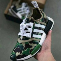 Adidas NMD X bape camouflage premium quality