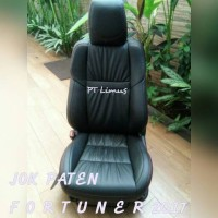 sarung jok mobil paten toyota fortuner material azeth leather nappa