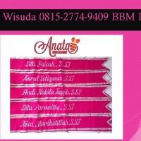 PROMO!!! 0853-9902-2446 (TSel) Jual SELEMPANG WISUDA pink