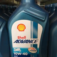 Oli Shell Advance 10w-40 AX7 4T 1L