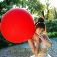 Balon latex jumbo merah / balon besar murah / balon jumbo strong